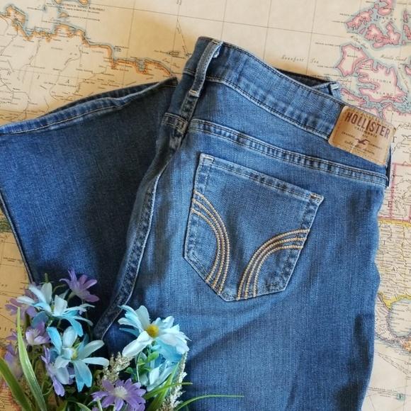 Hollister Denim - Hollister deconstructed boot cut jeans